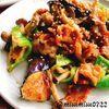 茄子と豚肉の味噌炒め(動画有)