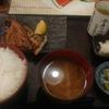 大手町【白銀屋 大手町分店】さばの半々(さば塩とさばみりん)定食 ¥780+ご飯大盛 ¥50