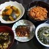 サバのカレー焼き&もやしのキムチ炒め&アカモクのお吸い物&アカモクの醤油漬け