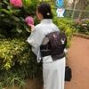 【コーディネート例】単衣とツバメの帯で初夏の装い【6月】