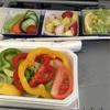 パレオダイエット中の機内食