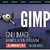 写真加工ソフトGIMPが新バージョンに変わっていた。