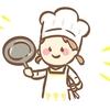 パンは魚焼きグリル、お餅はフライパンで焼いてます