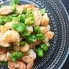 そら豆と海老のにんにくアンチョビ炒め〜そら豆の茹で方