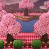 2021年 今年はあつ森で桜を楽しむ
