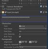 【Unity】Textボックスの右下に文字が入らない