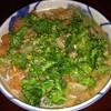 *[食養]菜花と豚スペアリブの煮物で丼