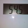 昨日の体重