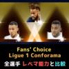 ネイマール登場!Fans' Choice  Ligue 1 Conforama 全選手 レベマ能力と比較 【FP FC0109】ゴロヴィン・コシェルニ・グラデル