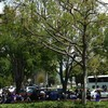 Busing people to protest