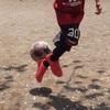 私が好きな息子のボールさばき