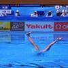世界水泳 シンクロ ソロ フリー