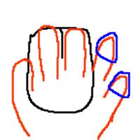 【AIM考察21】かぶせ持ちで薬指が擦れる人は指サックするとAIM良くなる
