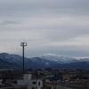 コストコ野々市屋上駐車場から「白山」撮影