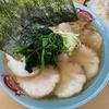「町田家」新宿店のチャーシュー麺並盛と半ライス@新宿