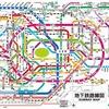 東京と大阪の地下鉄の名称を比較してみた