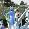 ディズニーランド♪アナとエルサのフローズンファンタジー2018♪フローズンファンタジーパレード♪ハンス王子♪