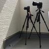 いつもカメラを2台用意して撮影します!