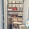 【収納・整理】100円ショップのアイテムを使って玄関横収納の見直しをしました。