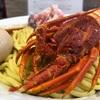 超ど迫力伊勢海老の乗った限定ラーメンが豪華すぎる件‼️『つけめんえびくらぶ(Crab)』カニ味噌ベースの濃厚スープが最強に美味かった!!