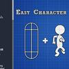 【Unity】動く床や回転する足場と連動できるキャラクターコントローラー「Easy Character Movement」紹介($27.00)