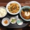 『桜ん坊』「よくばり麻婆豆腐セット」岩手県盛岡市三本柳