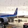 ユナイテッド(UNITED)航空のエコノミークラスの搭乗記、ANAコードシェア便の ~ ニューヨーク ーシカゴー成田
