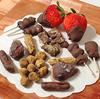 なまこ家のバレンタイン、即興チョココーティングの結果。