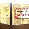 「手作りブックの体験講座」手作りブックを誕生日プレゼントに!