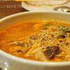 ●「韓国家庭料理・家族亭」でさいたまダービー祝勝会!のカルビタンクッパ