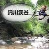【鈍川渓谷 愛媛】ドローン空撮★マイナスイオン全開の木地川&吊り橋【愛媛】