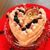 子供と作る クリスマスケーキ!その1