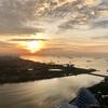 【遊@シンガポール】マリーナベイサンズ、サンズ・スカイパーク展望台でサンライズヨガ!これ、ヨガなの?