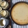 時短♡簡単♡プリンとチーズケーキは同時に作れば一石二鳥🌼🎽🌼