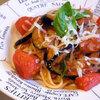 本日の夕食は茄子とトマトたっぷりのナポリタン♪【料理レシピ付き】
