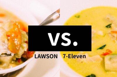 【ローソンvsセブンイレブン】グリーンカレーが食べたくなったらコンビニへ!