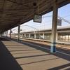 エヴァンゲリオン新幹線を見に行ったのに電源切れで写真が撮れず