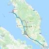 マレーシアをバス&鉄道で横断する計画