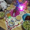 クリスマス第1弾(^^;;2017お家クリスマスディナー☆*:.。. o(≧▽≦)o .。.:*☆
