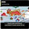 天候のit, 感覚動詞+O+現在分詞, 疑問詞+to不定詞, if節(名詞節)など(クリスマスをテーマに、子供が書いた短編小説)