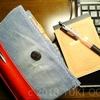 自分好みに使える手帳カバーを自作する