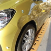 VW UPアップ(バンパー・フェンダー)キズ・ヘコミの修理料金比較と写真 初年度H29年、型式AACHY