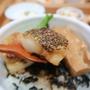 済州島(チェジュ島)グルメ #ヒョリの民泊2の丼ぶり屋さん「森のあるよ」