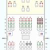 国内線JAL指定席制限・座席表(デカい機材編)