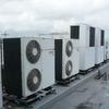 ガスから、電気へエアコン移行作業開始です。