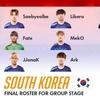 グランドファイナル後、俺が考えた最強韓国チーム
