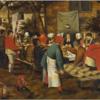 ブリューゲル 「農民の婚宴」 人肉食の宴