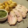 鹿追町のジャガイモと豚バラ肉のシンプルなロースト