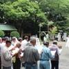 夏越の大祓式が執り行われました。