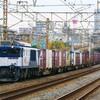 11月27日撮影 東海道線 平塚~大磯間 貨物列車撮影 3075ㇾ 5095ㇾ 2079ㇾ